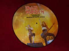 running free - live - vinyl picture disc - single - release 1985